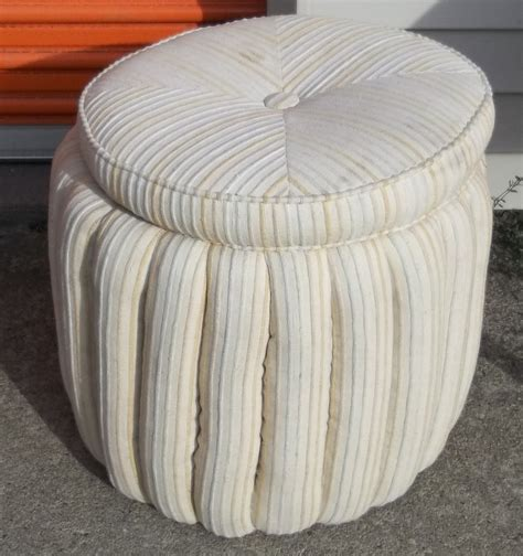 small round ottoman with storage round small storage ottoman home improvement 2017