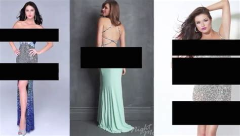 schools prom dress code pre approval of gowns spark school creates absurd prom dress code video completely