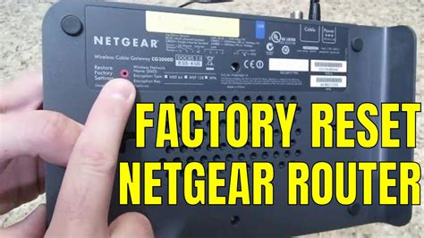 reset wifi location reset restore netgear wireless router to factory default
