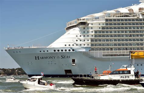 largest cruise ship world s largest cruise ship royal caribbean s harmony of