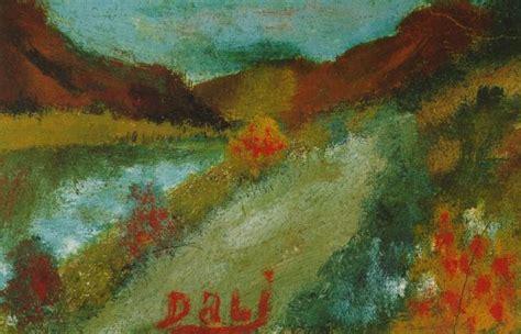 Landscape Near Figueras Landscape Salvador Dali Wikiart Org Encyclopedia Of