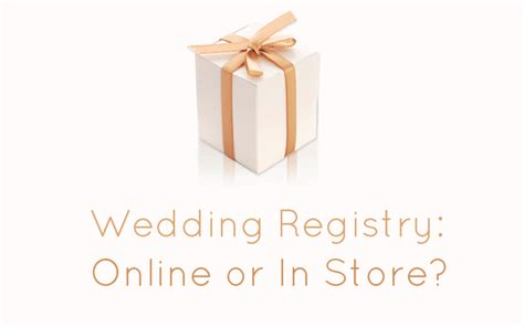 Wedding Registry Stores by Wedding Registry Or In Store Wedding Advice