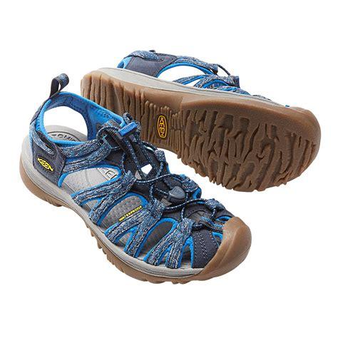 keen trekking sandals keen whisper womens blue outdoors walking hiking sandals