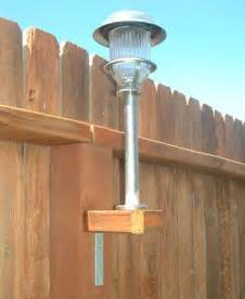 how to add solar lights to a fence home design garden