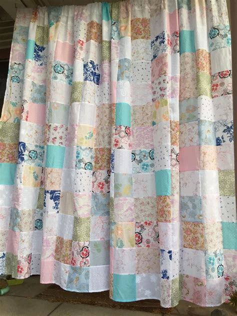 quilted curtain panels best 25 patchwork curtains ideas on pinterest gypsy