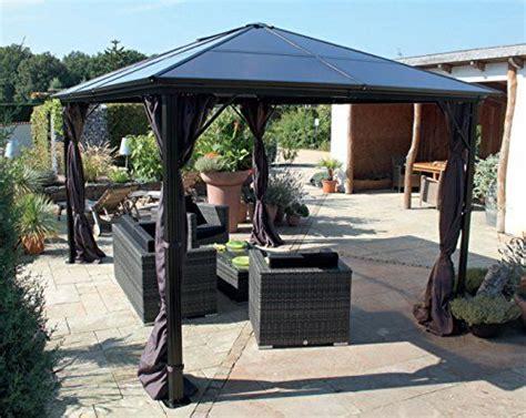alu gartenpavillon 3 x 3 m pavillon gartenpavillon luxuspavillon quot nabucco quot aus alu 3