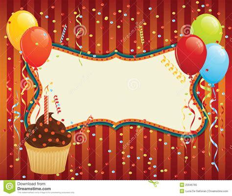 imagenes de cumpleaños en navidad birthday card stock vector image of festive bunch happy