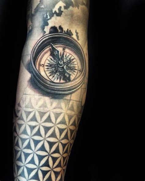 100 flower of life tattoo designs for men geometrical