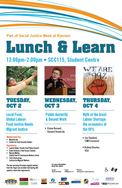 lunch and learn template lunch and learn for all