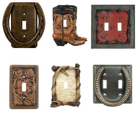 western light switch covers switch plates westerns and horse shoes on pinterest