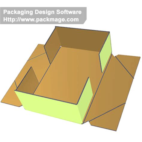 3d glued trays with dieline templates | corrugated and