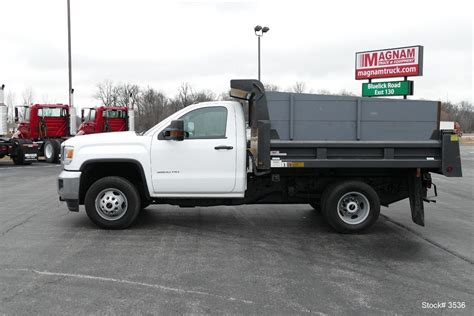 gmc trucks for sale gmc 3500hd dump trucks for sale 16 used trucks from 21 900