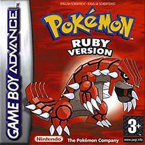 emuparadise gba pokemon ruby e independent box art