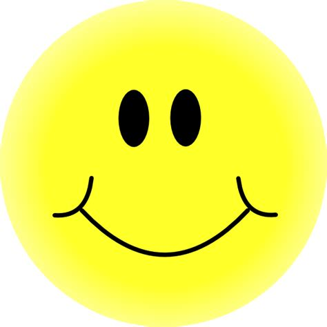 Happy Faces Clipart yellow smiley clip at clker vector clip royalty free domain