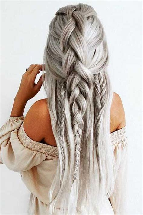 easy hair styles for long hair for 60 plus awesome braided long hairstyles long hairstyles 2017