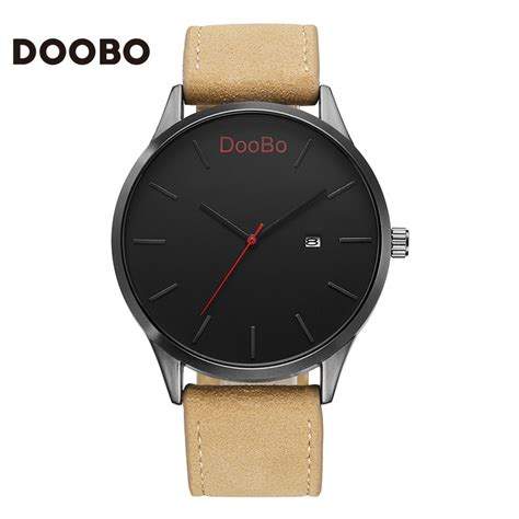 2017 doobo fashion casual mens watches top brand luxury