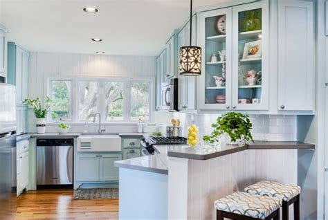 blue kitchen paint color ideas charming soft blue kitchen cabinet ideas with wooden panel