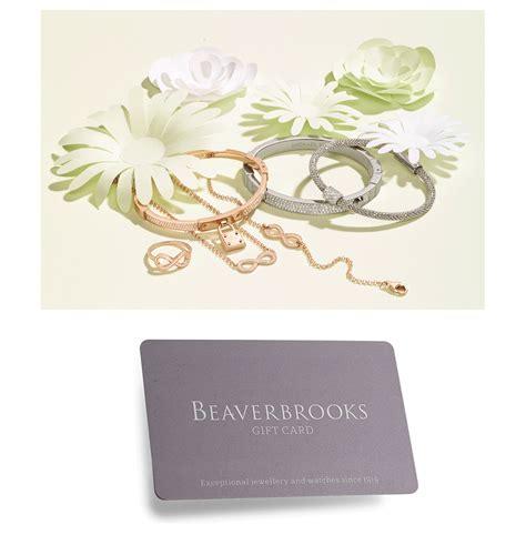 Beaverbrooks Gift Card - full wedding gift list range the gift list