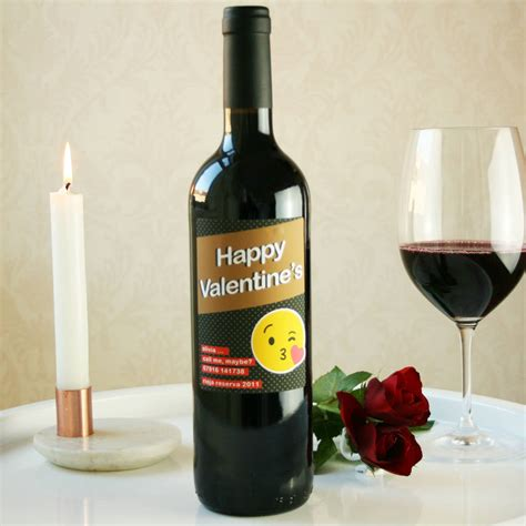 wine bottle emoji personalised emoji wine bottle by bottle bazaar
