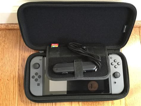 Switch Hori Slim Pouch photo here s what the inside of the hori tough pouch looks like nintendoswitch