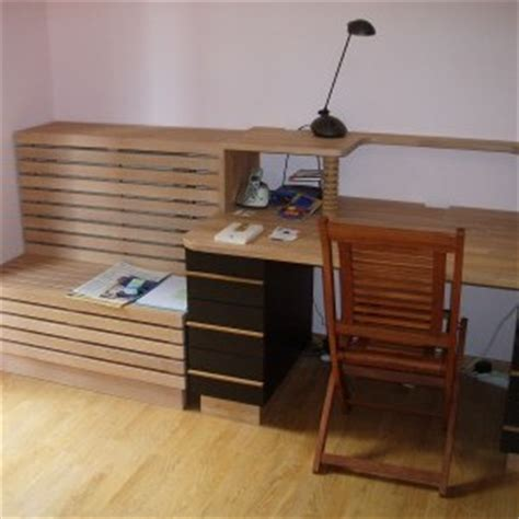 plan de travail bureau sur mesure univers bureau flip design boisflip design bois