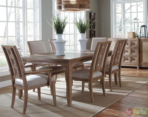 Cottage Dining Room Sets - ventura traditional coastal cottage dining room set