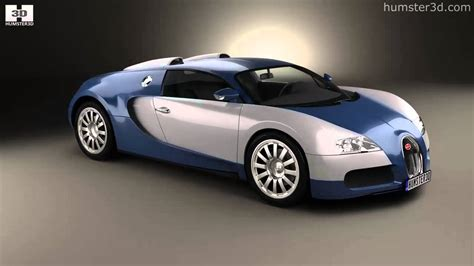 bugatti veyron 2005 by 3d model store humster3d