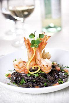 Casa Rinaldi Black Squid Ink Pasta Fettucini Pasta Mie Hitam Import vip dinner on cherry blossom tree charger and plates
