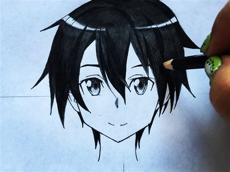design art online sao kirito drawing www pixshark com images galleries