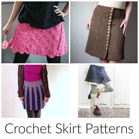 pattern skirt free easy crochet skirt patterns manet for