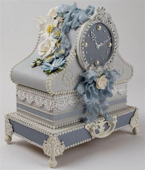 Pin By Tara Bergeron On Diy Crafts - table clock gift box via tara s craft studio create