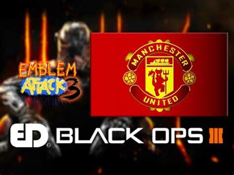 tutorial logo manchester united black ops 3 manchester united emblem tutorial emblem
