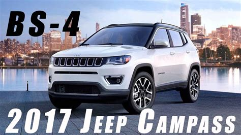 jeep india price list 2017 jeep compass unveiled in india price feature and