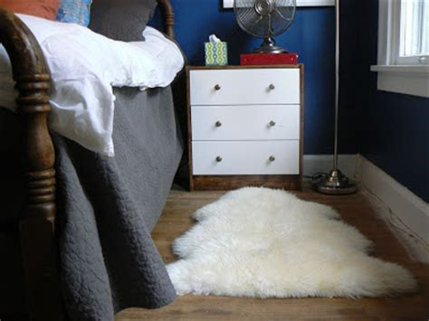 how to clean faux sheepskin rug