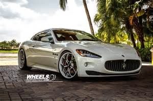 Maserati Wheels Our Client S Maserati Gran Turismo With 21 22 Quot Forgiato