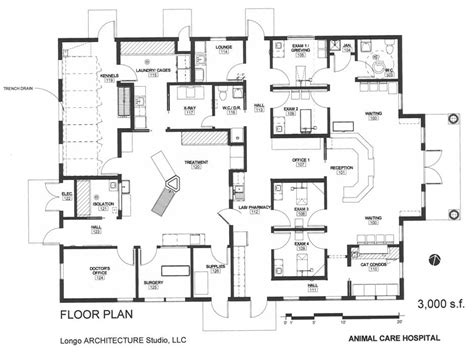 veterinary floor plans 1000 images about building a vet practice floorplans on