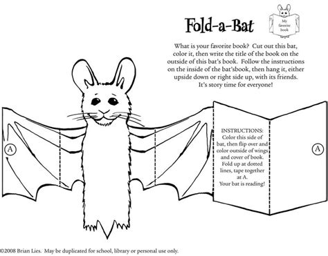 bat pattern for kindergarten 88 best fall book fair 2015 images on pinterest monsters