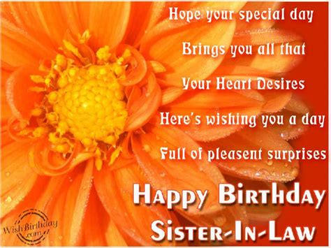 Wishing Happy Birthday Birthday Wishes For Sister In Law Birthday Images Pictures