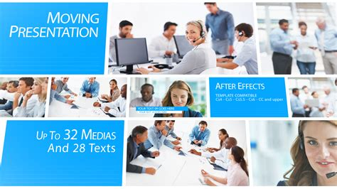 after effects presentation templates moving presentation