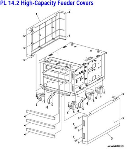 xerox office products phaser 6250 parts list/diagrams