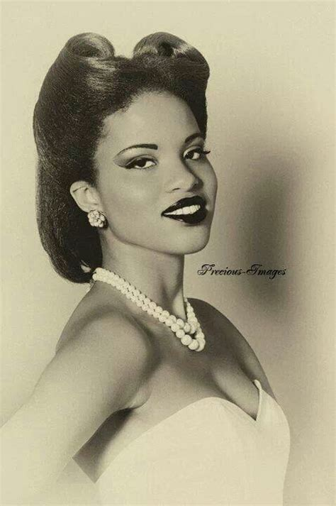 how to do a 60s african american hairstyles 1000 images about black hairstyles c 1930 1940s on