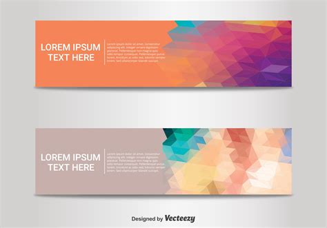 Abstract Banner Templates Download Free Vector Art Stock Graphics Images Banner Design Templates