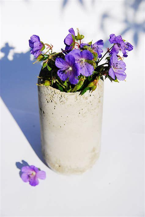 beton vase selber machen zum selbermachen beton vase expli