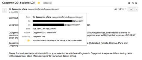 Snapdeal Offer Letter Quora capgemini offer letter quora docoments ojazlink