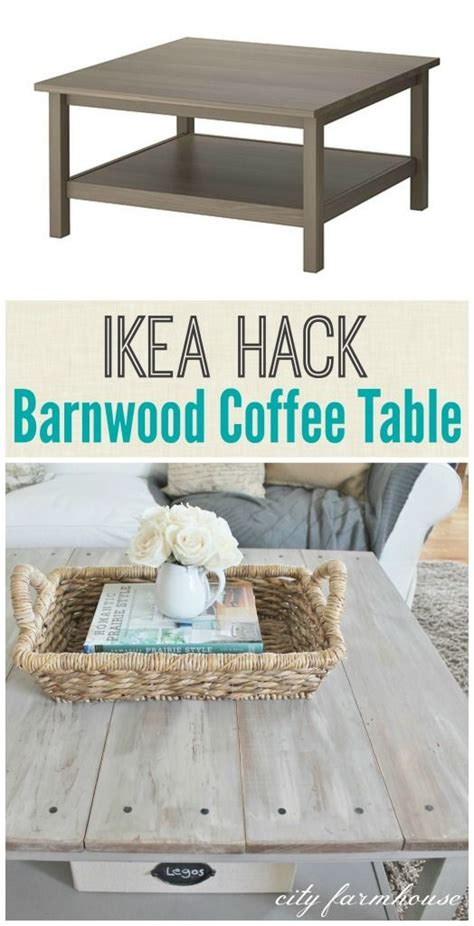 ikea hack coffee table ikea hack barnwood coffee table ikea decor s