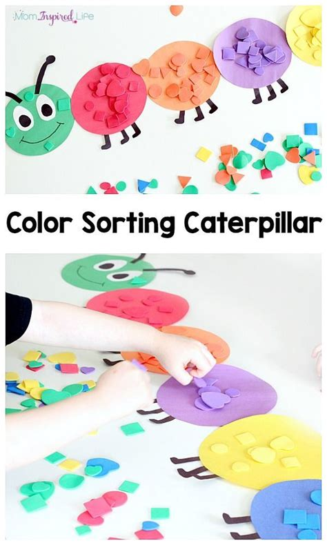 color craft for best 25 preschool color crafts ideas on