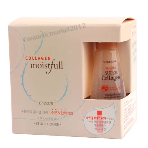 Collagen Etude etude house moistfull collagen 60ml collagen oule essence 20ml ebay