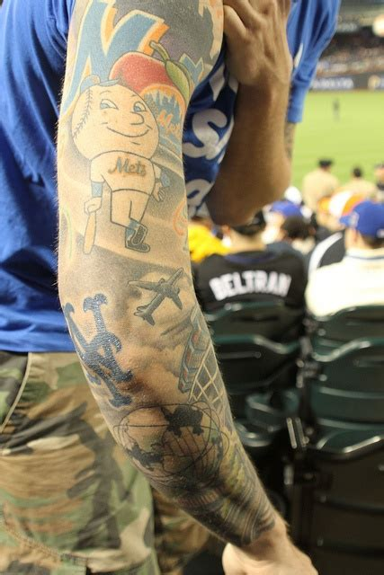 ny mets tattoo new york mets ideas ideas center