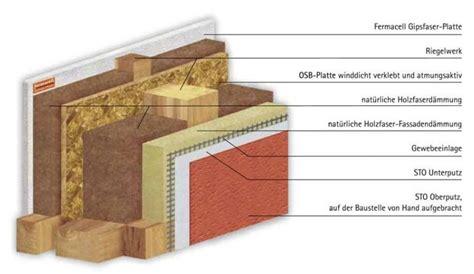 aufbau fertighauswand speziell ged 228 mmte wandaufbauten u wert bis 0 08 als
