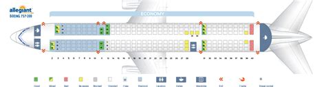Icelandair 757 Seat Map Airplanes by Seat Map Boeing 757 200 Allegiant Air Best Seats In The Plane